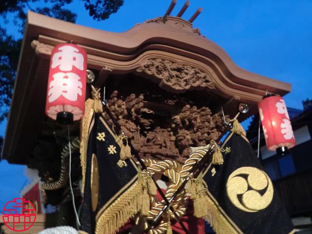 平成23年09月11日(日) 岸和田市 八木地区 中井町・地車新調入魂式
